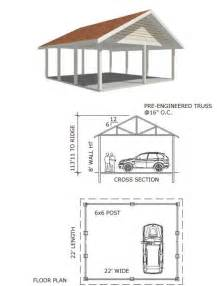 3 Car Detached Garage Plans 17 Best Ideas About Double Carport On Pinterest Carport