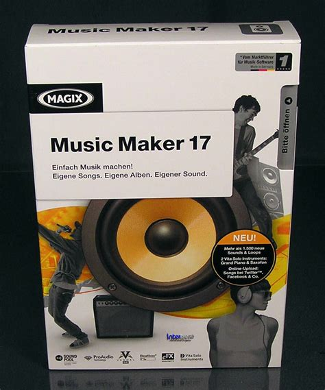Box Givi Komplit Plus Lengan magix maker 17 vollversion box musik machen neu ebay