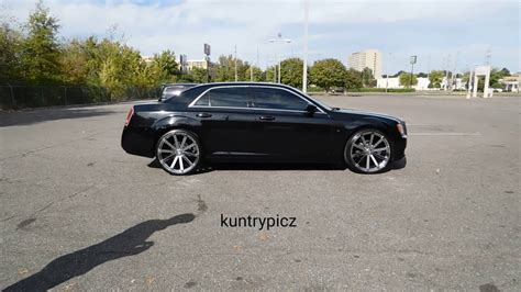 Black Rims For Chrysler 300 by Black Whipz Chrysler 300 On Velocity Wheels