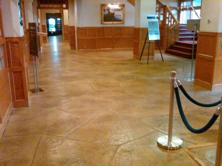 Did you know concrete floors could look like this good?
