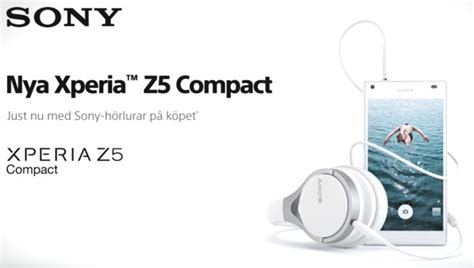 Headset Sony Xperia Z5 Compact Earphone come for the xperia z5 stay for the free sony headphones
