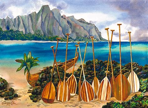 fine art prints posters spirit   paddles artists showcase limited edition giclee