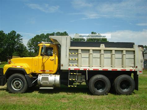 mack dump truck 2000 mack mack rd dump truck
