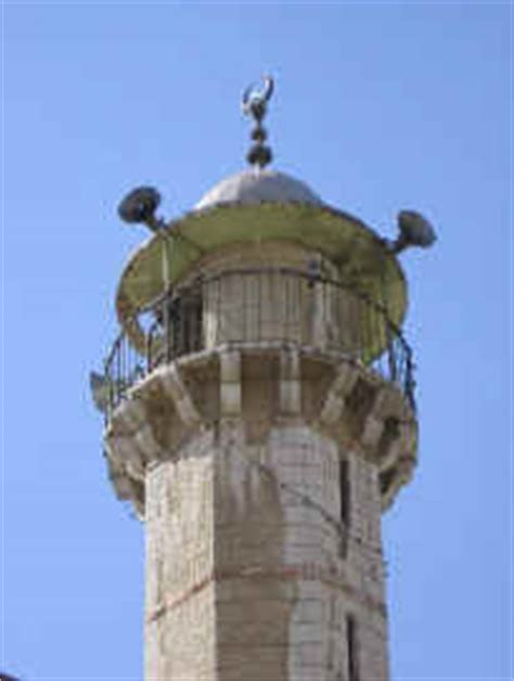Speaker Masjid muslims use mosque loudspeakers to call for