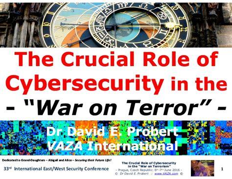 Cyberwar Cyberterror Cybercrime by Cyberterror Cybercrime Cyberwar Crucial Of