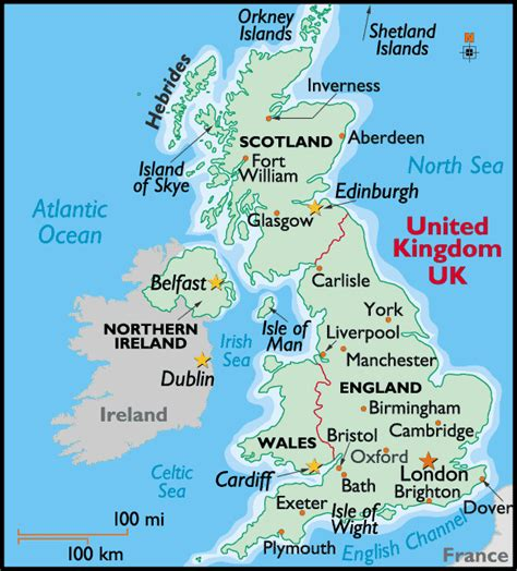 map of the united kingdom with major cities uk cities maps pictures maps of uk cities pictures