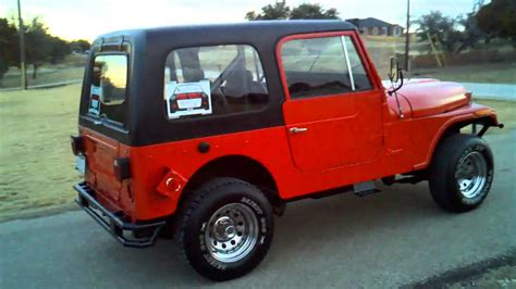 Cj7 Jeep For Sale Custom 1977 Jeep Cj7 For Sale Sold