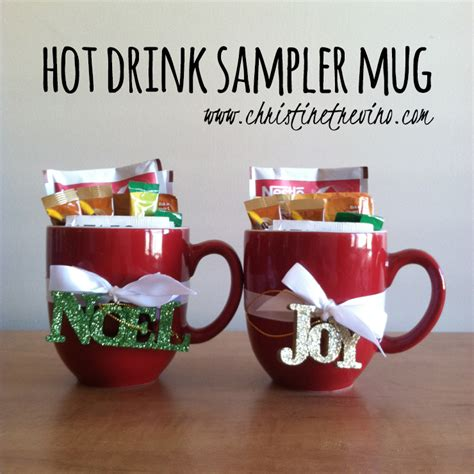 hot drink sler mug and christmas gift tag printable