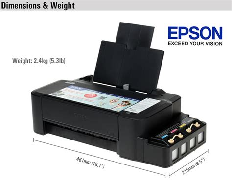 Epson L120 Printer Inkjet printer epson l120 colour inkjet printer ink system openpinoy