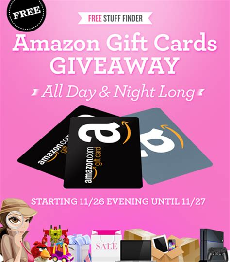 Free Amazon Gift Card Giveaway - join me black friday gift card giveaway event