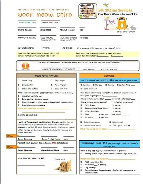dog walking forms free templates franklinfire co