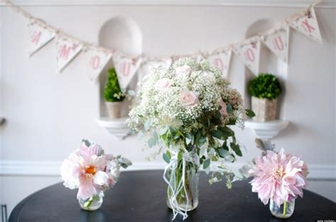 bridal shower photo centerpieces 2 wedding flowers 4 centerpieces for your bridal shower photos huffpost