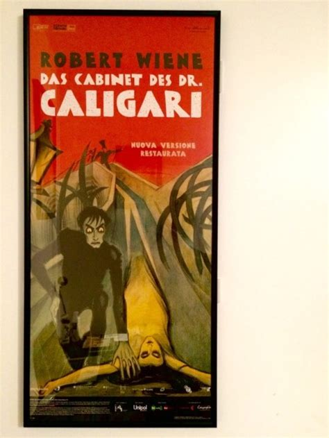 Cabinet Of Dr Caligari Poster by The Cabinet Of Dr Caligari Poster