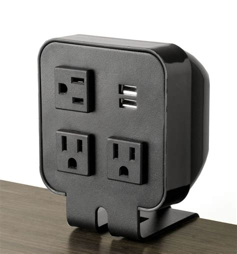 desk power outlet three power outlet 2 usb ports desktop portable power