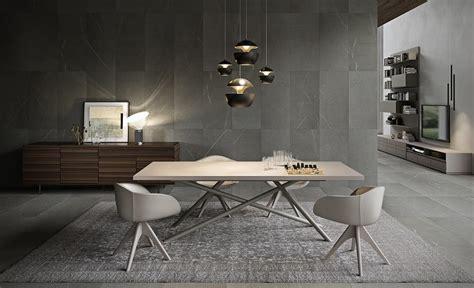 tavoli pranzo design tavolo da pranzo con piano in legno gambe in tubolare