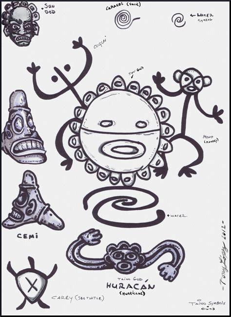 imagenes simbolos tainos taino indian symbols gods by lpsalsaman deviantart com on