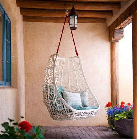 how to hang a swing from ceiling 15 playful versatile and comfy hanging chairs