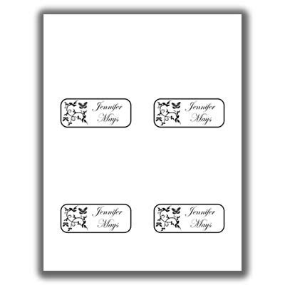butterfly name card template butterfly place cards