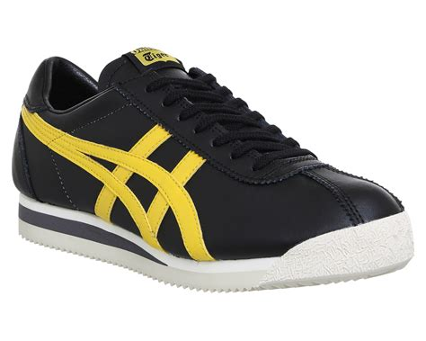 Tiger Corsair Shoes Onitsuka Tiger onitsuka tiger tiger corsair black chi yellow trainers