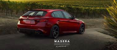 Alfa Romeo News Giulia 2018 Alfa Romeo Giulia Sportwagon Reportedly In The Offing