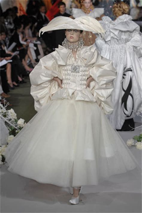 Christian Haute Couture 2008 Collection by Christian Parigi Haute Couture Fall Winter 2007