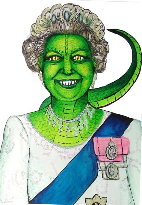 the royal family david icke and the reptiles merovee the queen in reptilian form by zucchinii on deviantart