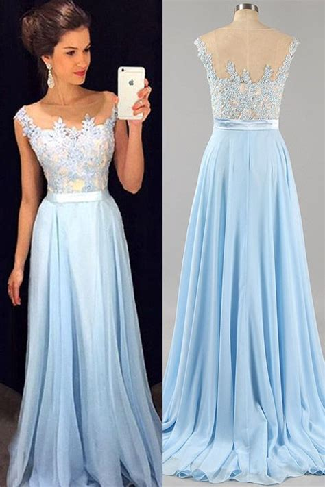 the 25 best baby blue prom dresses ideas on