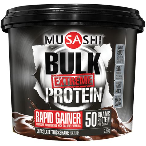 Bulk Protein buy musashi bulk protein powder chocolate 2 25kg at chemist warehouse 174