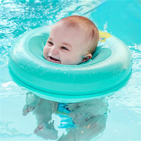 Neck Ring Baby solid baby swimming neck ring baby neck float flot adores para piscina swim trainer infant neck