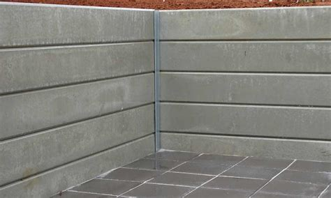 Concrete Sleeper Retaining Wall Installation by Portfolio Of Landscaping Work Completed Across Adelaide