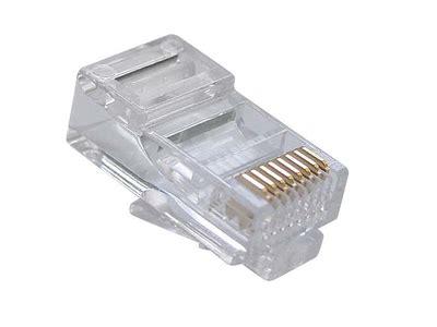 Konektor Rj45 Cat5e komunikacijski kabli konektor rj45 za utp cat 5 cat 5e