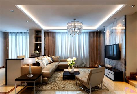 Modern Style Living Room by Modern Style Interior Modern House