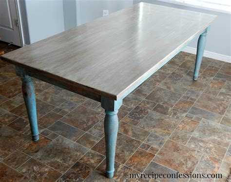 chalk paint table what i wednesday my recipe confessions