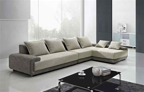 Sofa Minimalis New Design by Modern L Shaped Sofa Designs For Awesome Living Room