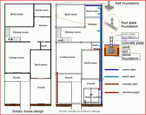how to make house plans house build house foundation