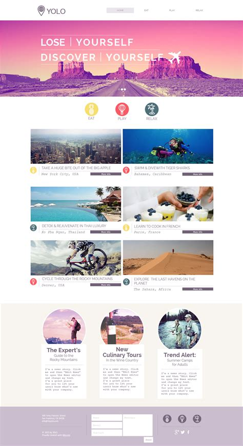 15 Best Free Travel Templates And Themes Tour Operator Website Template