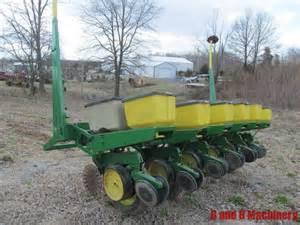 deere 7000 corn planter 6 row no till