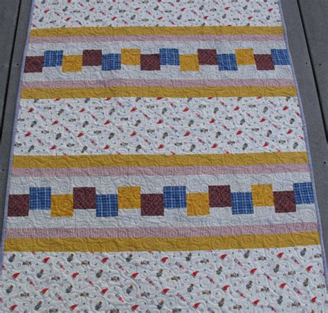 Yellow Patchwork Quilt - items similar to blue and yellow patchwork baby or