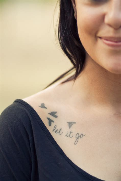 hard times tattoo quot let it go quot collar i think this would be for