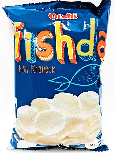 oishi fishda fish kropeck   buy asian food