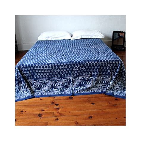 Indian Bed Covers by Indian Real Handycraft Fabrics Bed Cover By Pankaj Indian