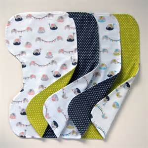 contoured burp cloths revisited cloud9 fabrics