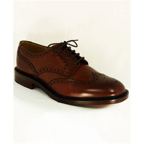brogue shoes loake loake chester country brogue shoe loake from gibbs