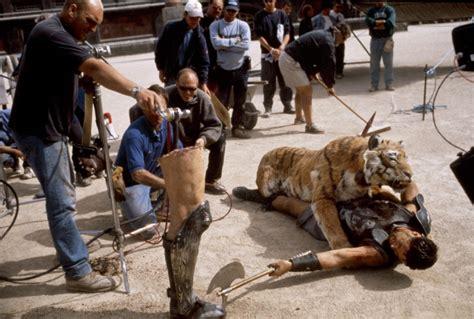 gladiator film lion 2000 gladiator set design cinema the red list