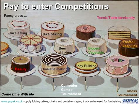 Fundraiser Giveaway Ideas - cake raffle ideas commonpence co