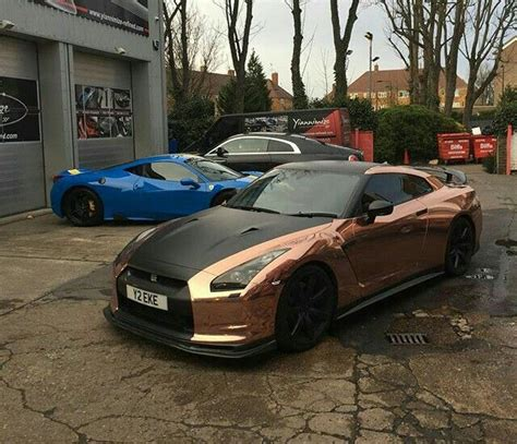nissan gtr wrapped gold 342 best images about i d drive that on pinterest