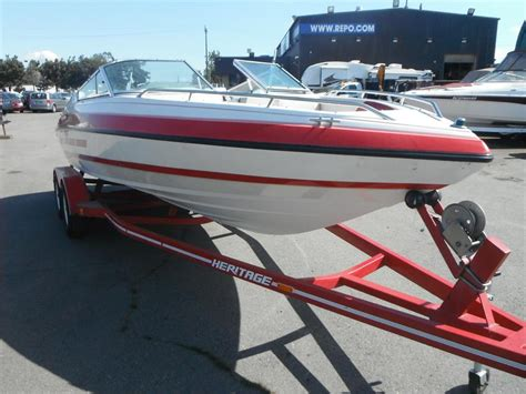 used heritage boat trailers 1992 mariah boat with heritage trailer outside comox