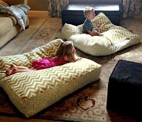 bean bag chairs floor pillows diy floor pillows allfreesewing