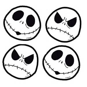 A Nightmare Before Christmas Decorations - jack skellington face head expressions nightmare before christmas disn