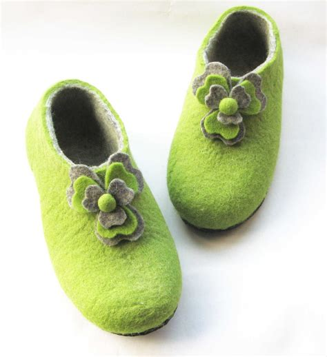 flower of rubber st felted wool slippers wool boots cat beds st s